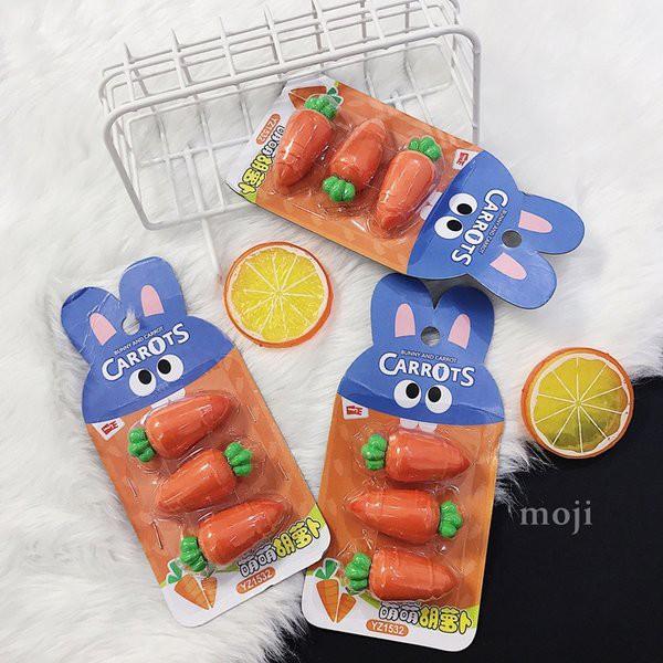 Cục tẩy Carrot Set3