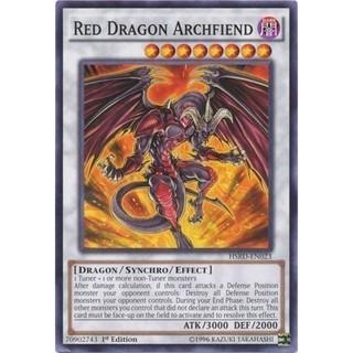 Bộ bài Red dragon archfiend- bài yughioh chính hãng