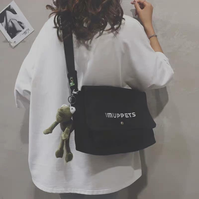 Túi Đeo Chéo Muppet 3 màu Siêu Cute MUPPET01-D