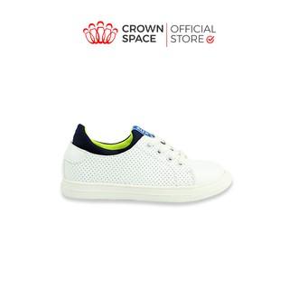 Giày Sneaker Bé Trai Bé Gái Đi Học Chính Hãng Crown Space UK Active Trẻ em Cao Cấp CRUK210 Nhẹ Êm Size 26-35 2-14 Tuổi