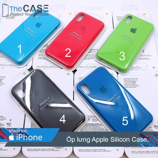 Ốp lưng iPhone X/XS Apple Silicon Case (The Case)