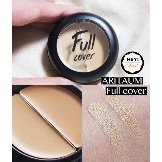 Follow Shop 06/03 Che khuyết điểm Aritaum Full Cover Cream Concealer 2 tone - 9975380 , 918662029 , 322_918662029 , 120000 , Follow-Shop-06-03-Che-khuyet-diem-Aritaum-Full-Cover-Cream-Concealer-2-tone-322_918662029 , shopee.vn , Follow Shop 06/03 Che khuyết điểm Aritaum Full Cover Cream Concealer 2 tone