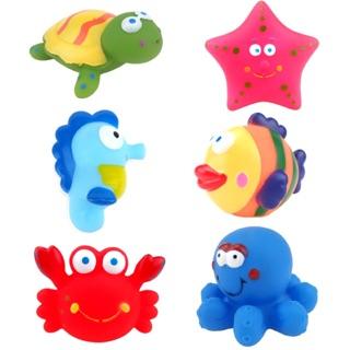 Set đồ chơi nhà tắm 6 sinh vật biển