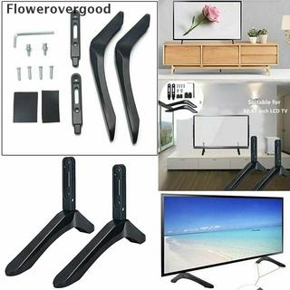 Fgvn Universal 32-65″ TV Mount Bracket FLAT TV LCD Screen Table Stand For LG Vizio TV HOT