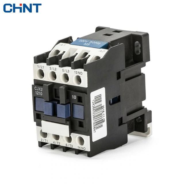 Khởi động từ AC contactor CHINT CJX2-1210 -220V-12A