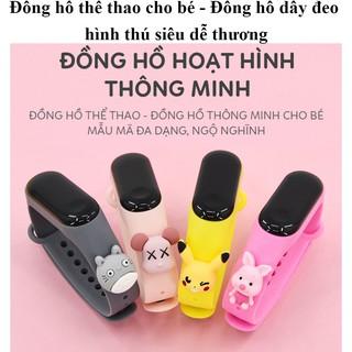Đồng Hồ Trẻ Em ZGO DISNEY Silicon, Đồng Hồ Điện Tử Thông Minh Cho Bé