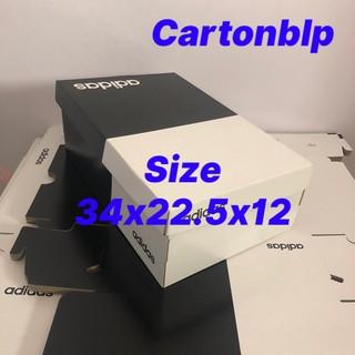 hộp đựng giày adidas size 34x22,5x12 cm size lớn