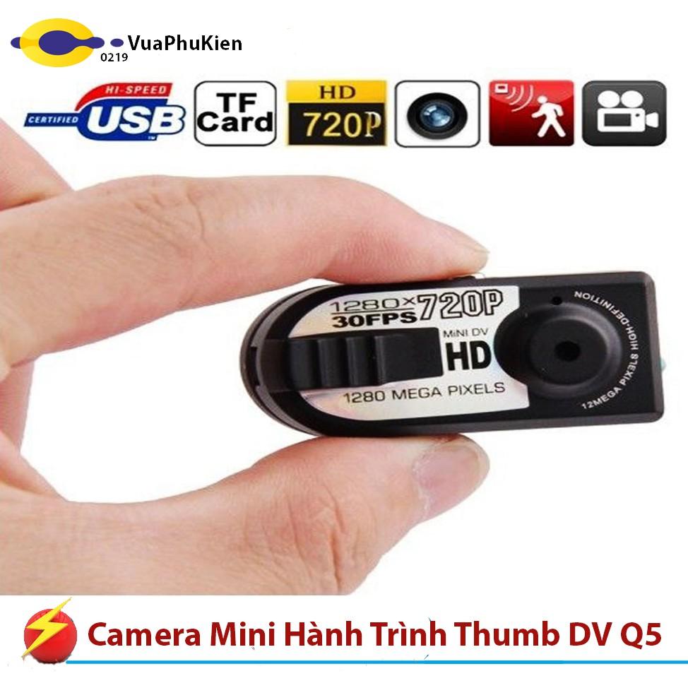 Camera Mini Hành Trình Đi Phượt Thumb DV Q5