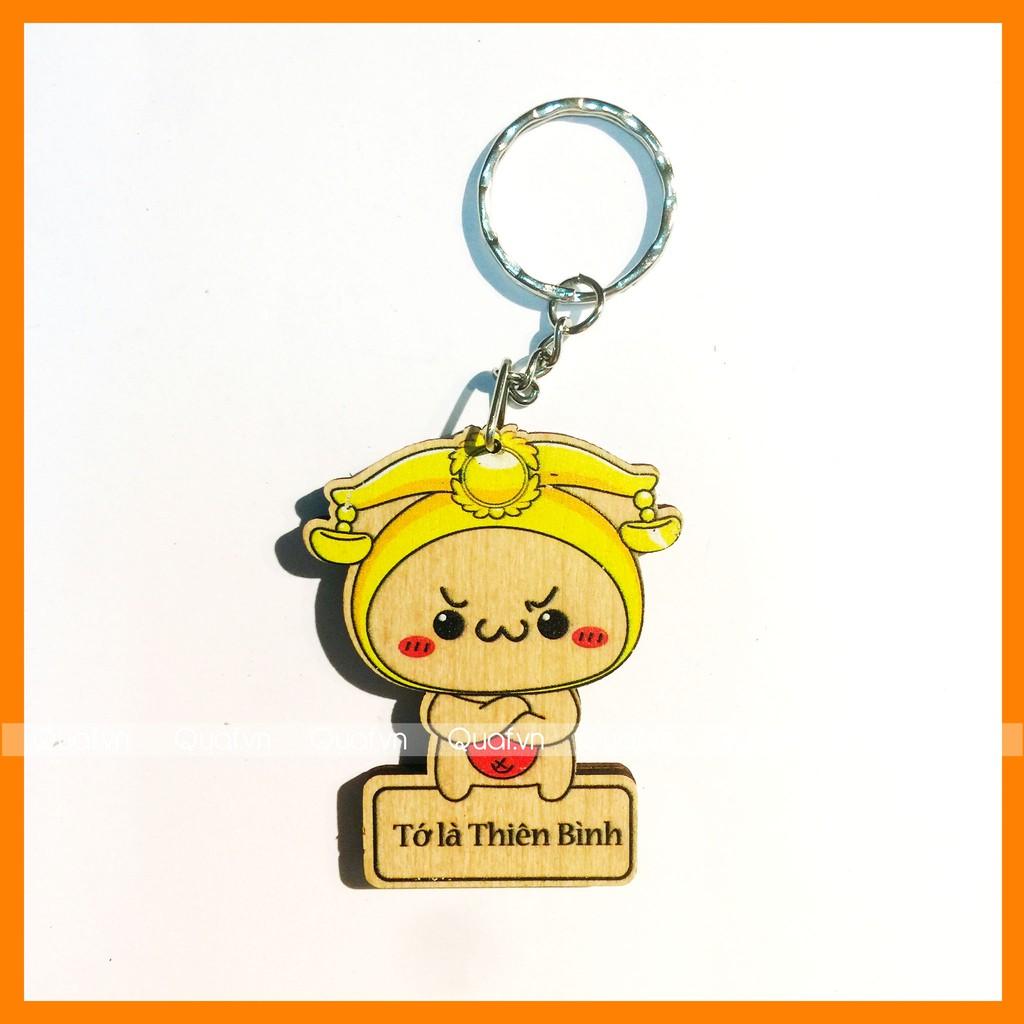 Thiên Bình - Móc khóa Danbo 12 cung hoàng đạo (mẫu mới )