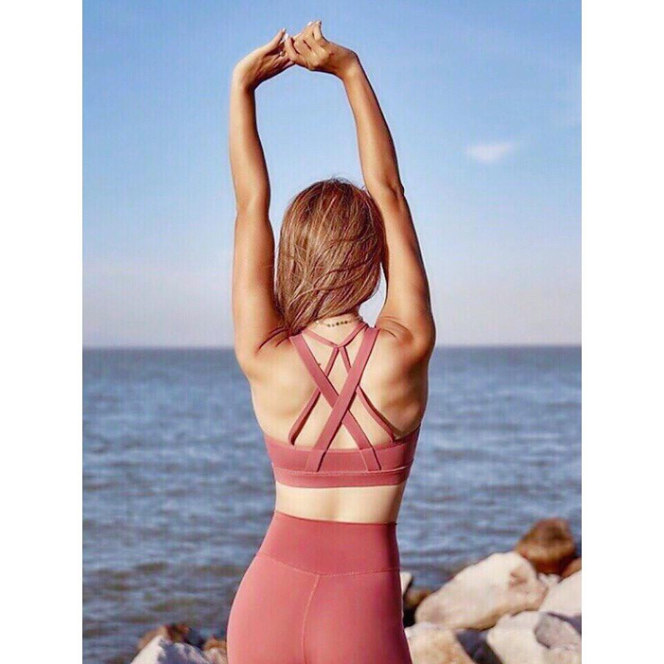 [Freeship 99k] Áo tập gym, yoga, aerobic, thể thao| Bra VS xịn JUNEFS127