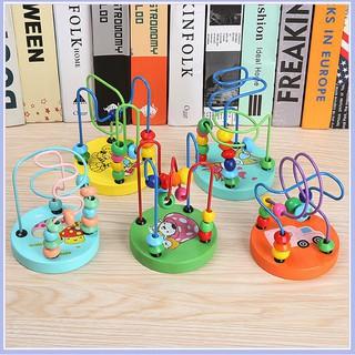 [GIÁ SỐC] Đồ chơi Luồn hạt gỗ size nhỏ cho bé | Shop Mẹ Sóc