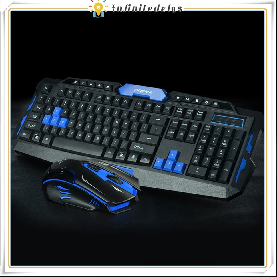 INFINITE 2.4G Bluetooth Wireless Keyboard And Mouse Combo, Gaming Or Office Set For Laptop, PC Giá chỉ 304.266₫