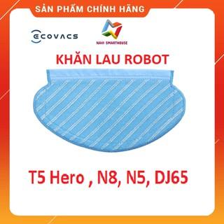 Khăn lau cho robot hút bụi Deebot T5 Hero, N8, N5, DJ65, khăn lau chuyên dụng thumbnail