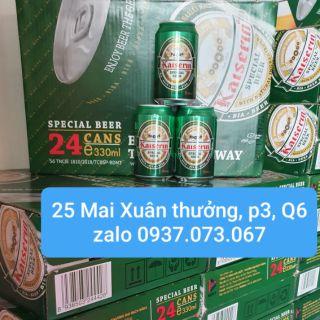 Bia Đức Kaiserin Special 12- 24 lon, HSD: T6/21