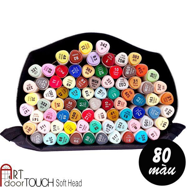 [ARTDOOR] Bút Marker Touch Soft Head 80 màu (tặng túi vải) - 3366741 , 1146181663 , 322_1146181663 , 760000 , ARTDOOR-But-Marker-Touch-Soft-Head-80-mau-tang-tui-vai-322_1146181663 , shopee.vn , [ARTDOOR] Bút Marker Touch Soft Head 80 màu (tặng túi vải)