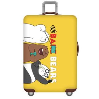 Vỏ bọc vali chống chầy xước - We bear bear vàng thumbnail