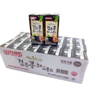 (Date 5.2021) Sữa óc chó hạnh nhân đậu đen Hàn Quốc Sahmyook 190ml.