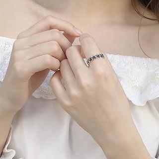 Hình ảnh Nhẫn Bạc Nữ S925 Thiết Kế Hình Đầu Lâu Độc Đáo Cá Tính N-1712 Bảo Ngọc Jewelry-5