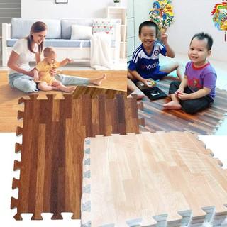 Bộ 9 miếng thảm xốp lót sàn cho bé Âu Lạc EVA