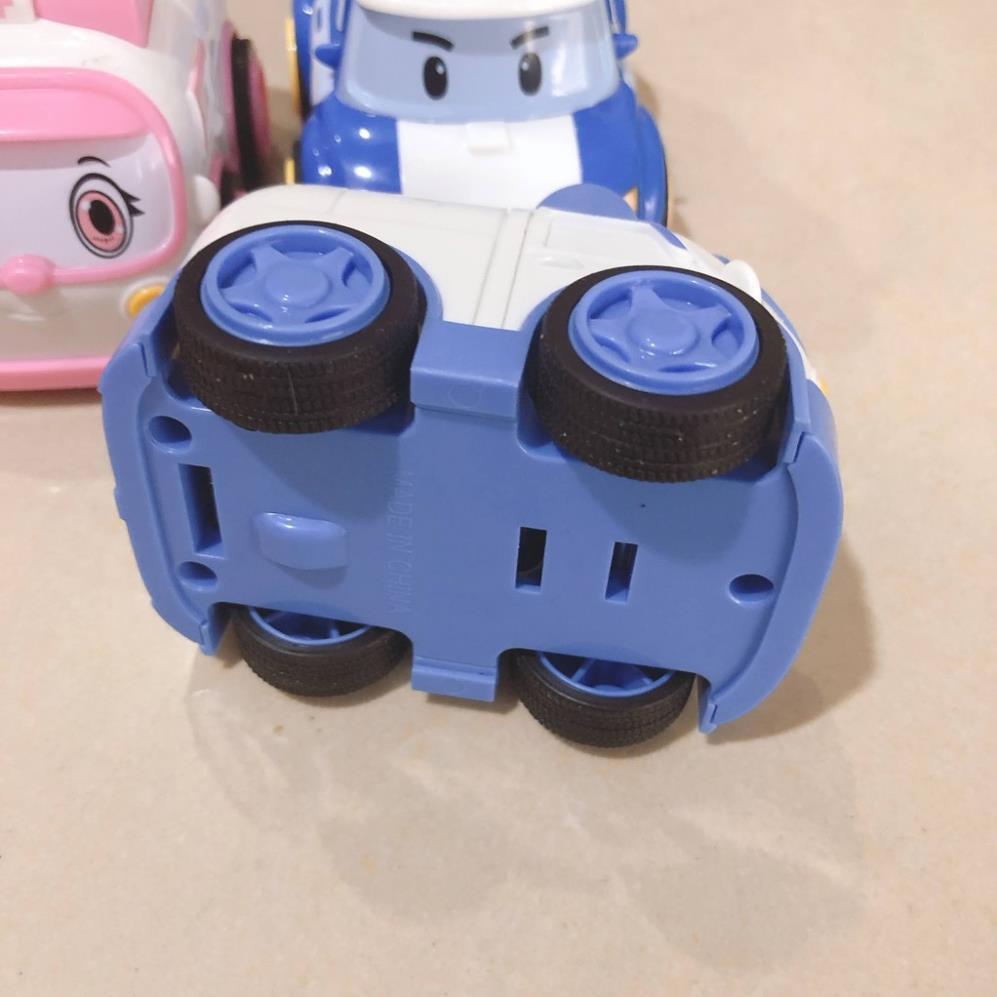 [SNND] bộ 4 chiếc xe đồ chơi nhỏ chạy trớn