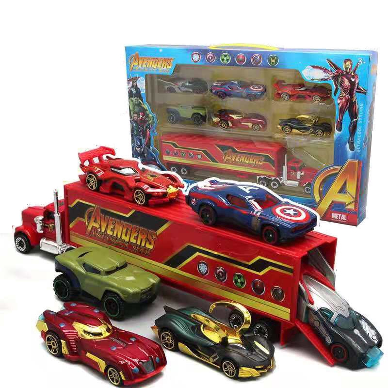 MPG 1:64 Alloy Car Diecasts Toy Vehicles The Avengers And Justice league Car Model