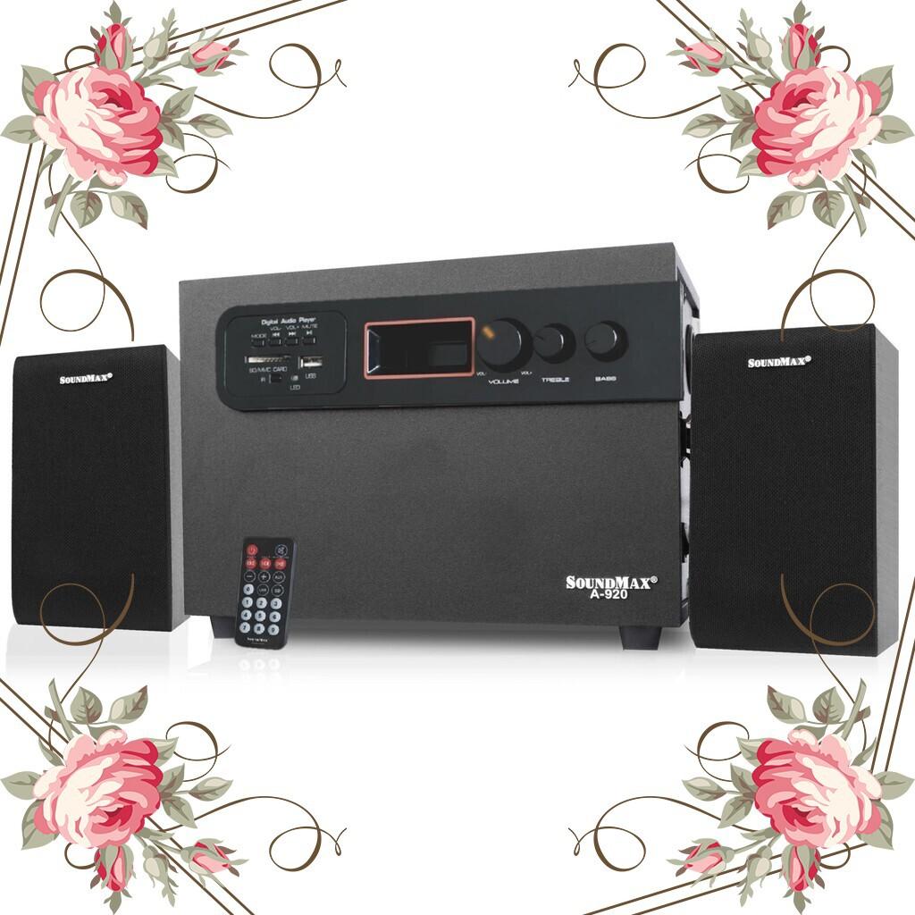 (Sốc Cực Sốc) Loa Vi Tính SoundMax Model A-930/2.1 Giá chỉ 1.038.700₫