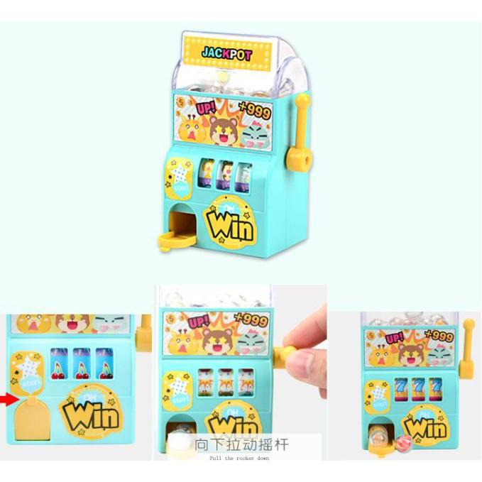 Máy Chơi Game Mini Roll, Swing, Drink, Jackpot Tạo Tương Tác Cho Bé