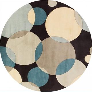 Thảm tròn thiết kế đơn giản hiện đại phong cách bắc âu