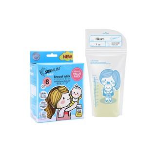 Túi trữ sữa Sunmum Thái Lan loại 250ml