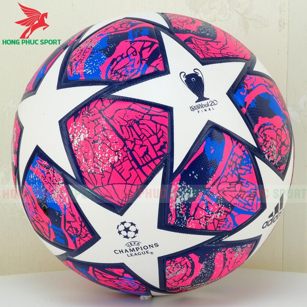 BÓNG ĐÁ UEFA CHAMPIONS LEAGUE 2019 ĐỦ MÀU SIZE SỐ 5 ( BÓNG ĐÚC ) Tặng kim bơm