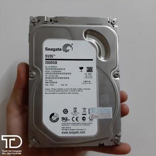 Ổ cứng máy tính / camera 2TB tháo máy sức khỏe 100% - HDD 2TB 3.5 inch