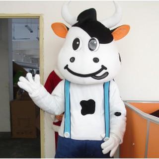 Quần áo hoá trang Mascot Bò sữa – sinh nhật, sự kiện