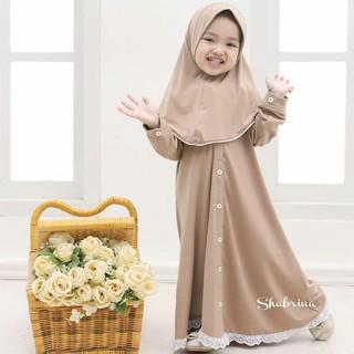 Đầm Phong Cách Hồi Giáo Cho Bé Gái 5-6 Tuổi