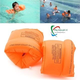 Bộ 2 Phao Đeo Tay Tập Bơi Trẻ Em