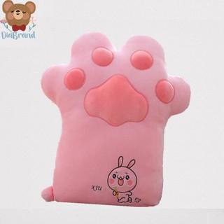 Gấu Bông Bàn Chân Mèo Siêu Dễ Thương Size 50CM Màu Hồng - Diabrand