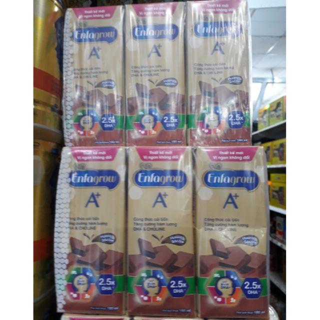 Sữa bột pha sẵn ENFAGROW A+ 180ML vani và sô cô la