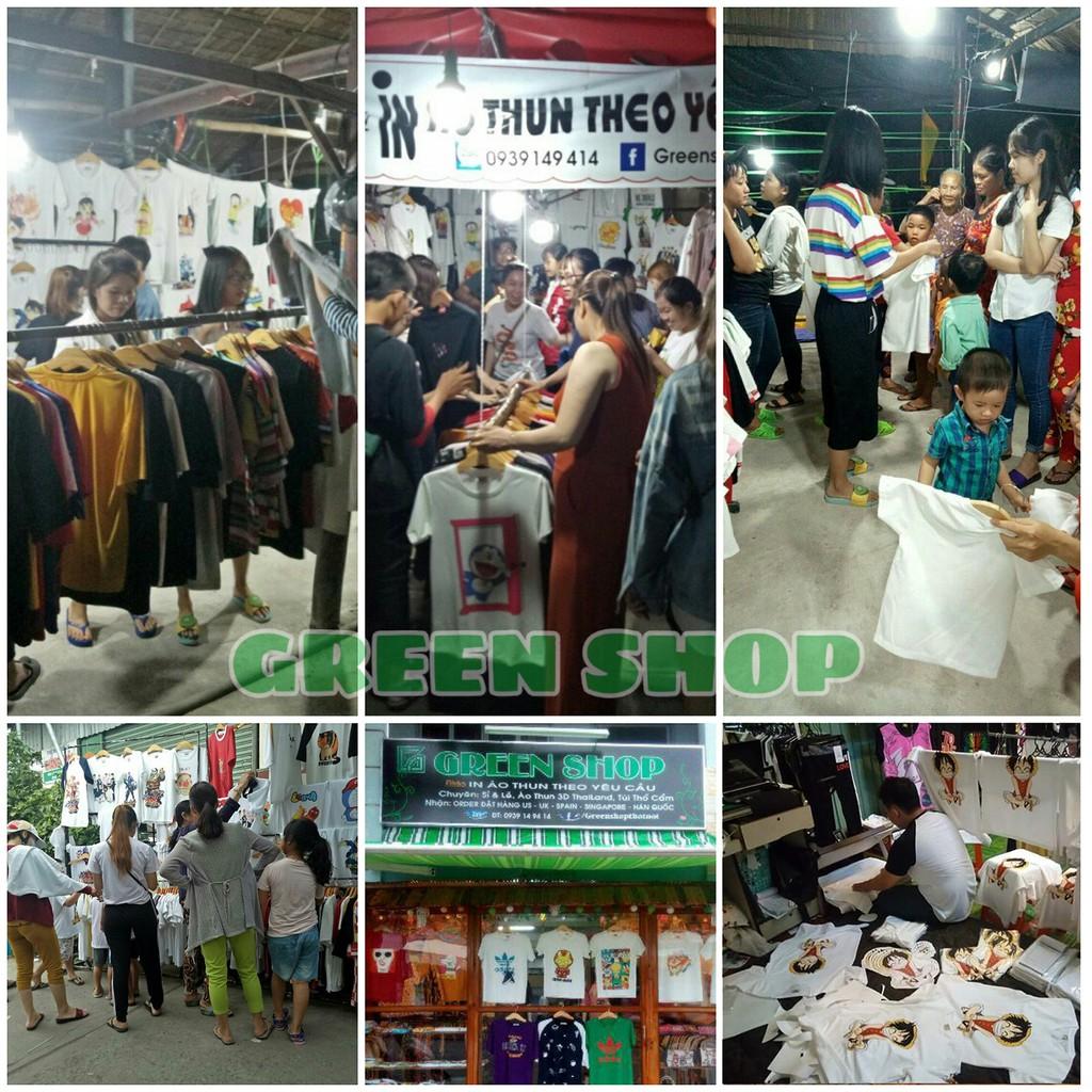 ( HOT ) Áo thun Luffy, ACE, Sabo Vải Cotton Thái in tại shop S030