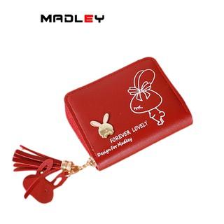 Ví nữ mini cute ngắn MADLEY cầm tay dễ thương nhỏ gọn bỏ túi VD492 thumbnail
