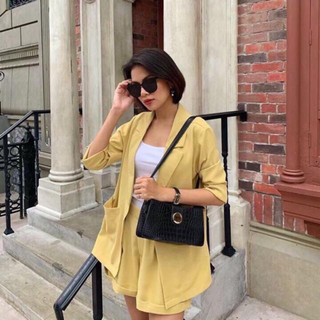 1396995066 - Style Thanh Lịch - Đẹp không tì vết nè các chị em ơiiii ❤️❤️❤️❤️ Set rời gồm đầm mix cùng áo sơ mi