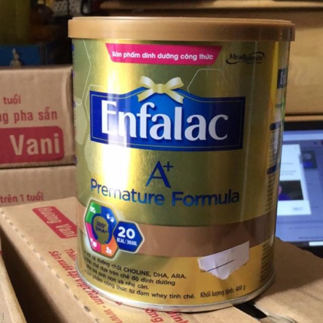 Sữa bột Enfalac A+ premature fomula lon 400g
