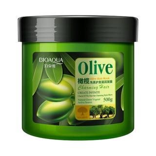 Ủ Phục Hồi Tóc Khô Xơ Gãy Rụng Chiết Xuất Tinh Chất Dầu Olive Thương Hiệu BioAqua 500g