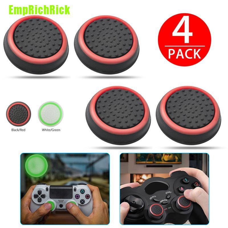 Set 4 Nắp Bảo Vệ Nút Bấm Cho Tay Cầm Chơi Game Ps3 Ps4 Xbox