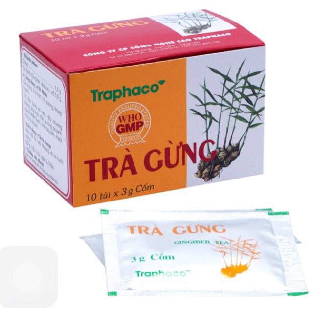 Combo 3 hộp trà gừng Traphaco