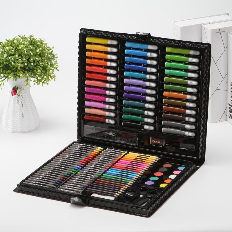Watercolor Pens Set Painting Tool Set Children Paintbrush Art Stationery Gift Children Elementary School Student Birthday Gift