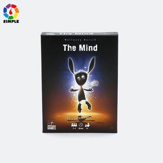 The Mind Card Game Puzzle Card Game Card Party Game Board Games Card Team Experience Interactive Toys thumbnail