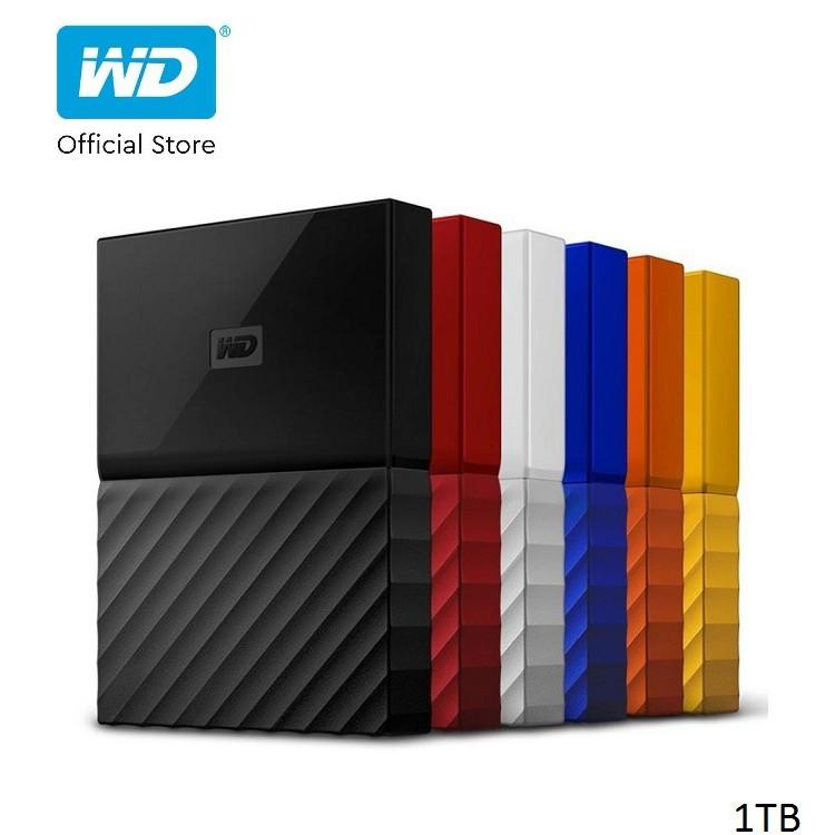 [ELWD09 giảm 150K đơn 1 triệu] Ổ cứng WD My Passport 2.5 INCH 1TB Portable- Hãng Phân Phối Chính Thức