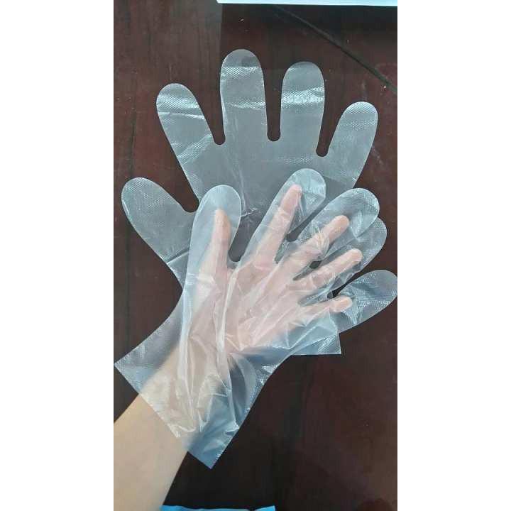 [SALE GIÁ SỐC]  Set 50 găng tay nilong dùng 1 lần làm bếp