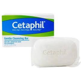 Xà Phòng Cetaphil Gentle Cleansing 127g nhập khẩu chính gốc