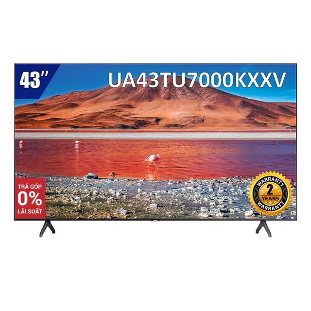 Smart Tivi 4K UHD Samsung 43 inch UA43TU7000KXXV (Model 2020)