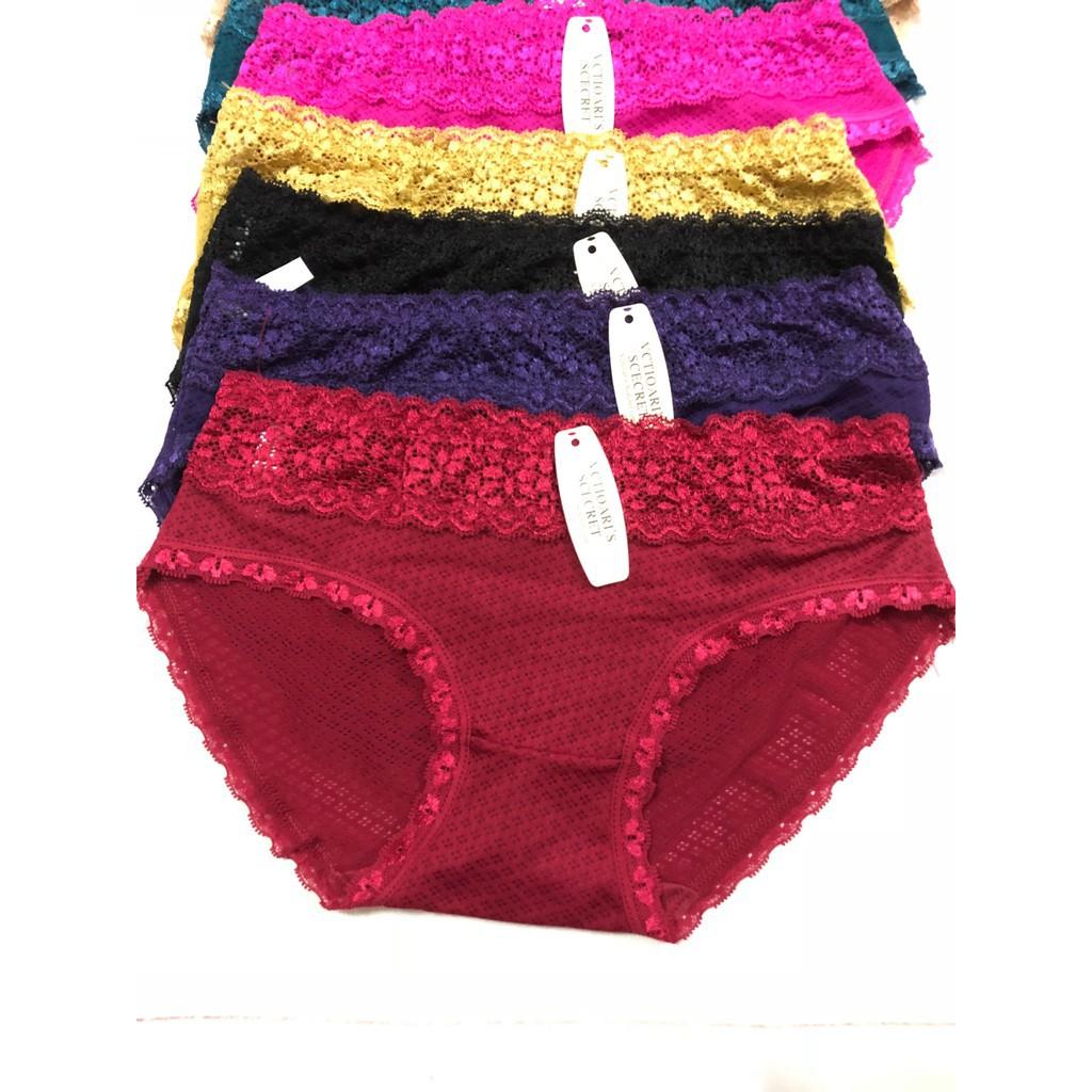 Set 5 quần lót phối ren siêu mát